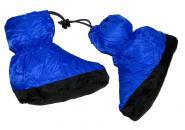 Péřové botičky do stanu a spacáku