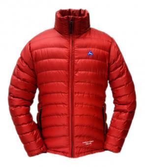 Péřová bunda Breeze červená