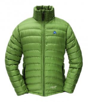 Péřová vesta Breeze světle zelená