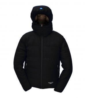Péřová bunda Monkey Jacket černá - voděodolná
