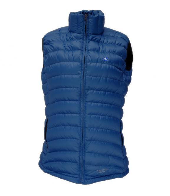 Péřová vesta Breeze tmavě modrá