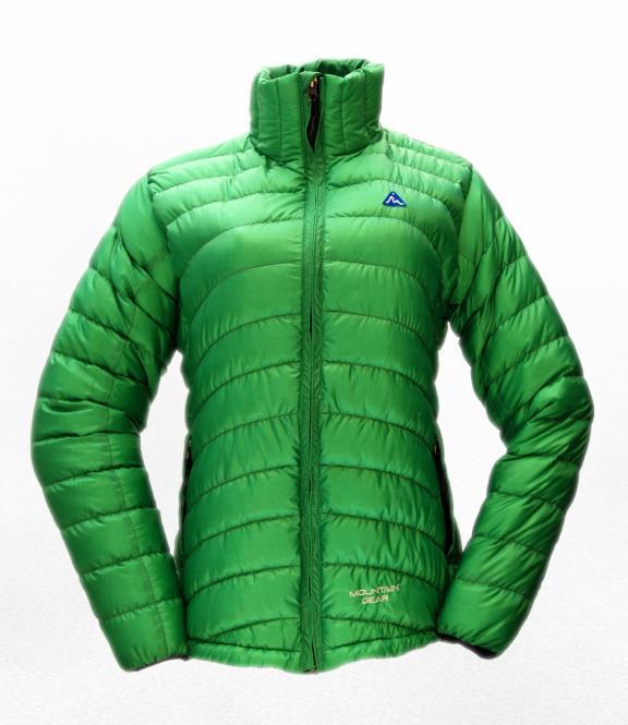 Péřová bunda Breeze zelená