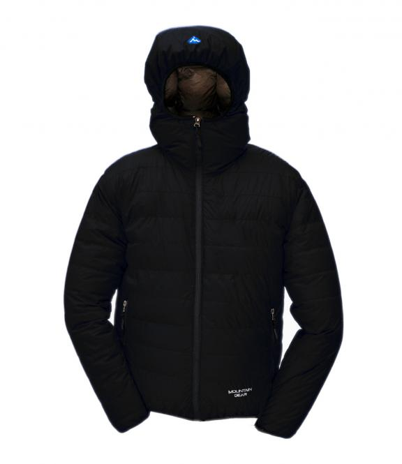 Péřová bunda Monkey Jacket černá - voděodolná - výprodej