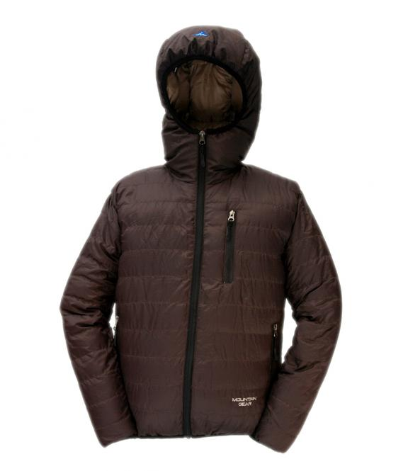 Péřová bunda Monkey Jacket - Coffee - výprodej